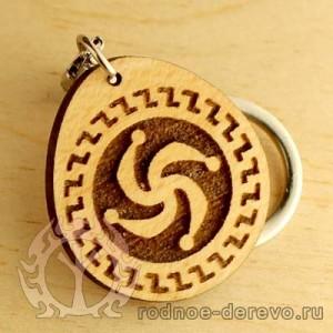Брелок символ Рода