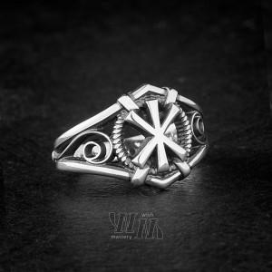 Кольцо с руной Жива